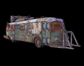 Bus Apocalypse 3D asset