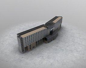 EGCC Hotel Radisson 3D model