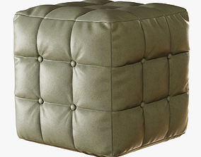 3D model Pouf with buttons