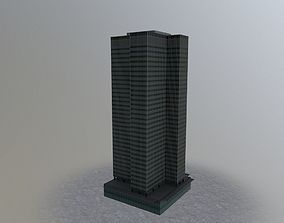 3D asset London Euston Tower