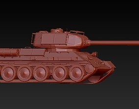 Soviet medium tank 3D print model