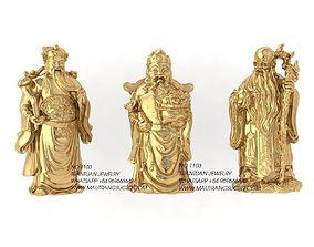 3D print model 1103 The Statue Feng Shui