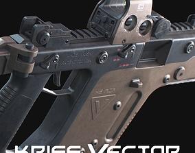 3D asset Kriss Vector Game ready model