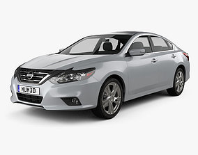 3D model Nissan Altima SL 2016
