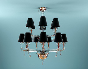 3D model Barovier Toso Nevada Chandelier 2