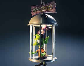 3D print model Elfo cage diorama - Disenchantment