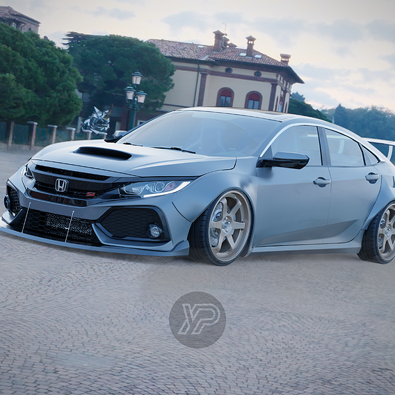 Tuned Honda Civic