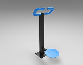 Sports Disc Trainer 3D model