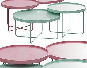 3D Paolo Lenti Passepartout Coffee Tables
