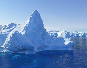 various-models Iceberg 3D model