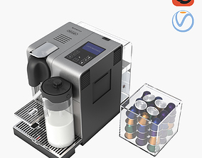 3D model DeLonghi Nespresso Lattissima Pro EN 750 MB
