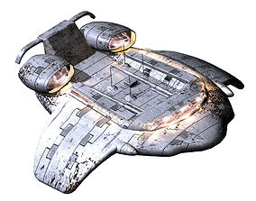 3D model Satellite-Spaceship-Xingxu 03