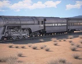 3D antique 20th Century Limited Hudson Train