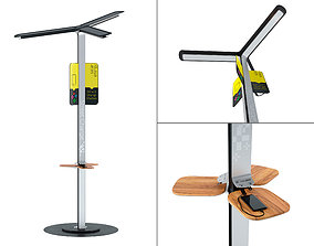 3D model Street Charge - Solar Charging Station