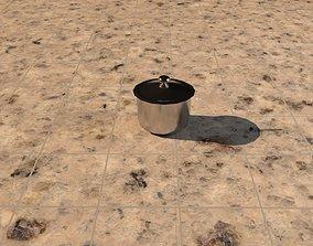 Steel pot 3D