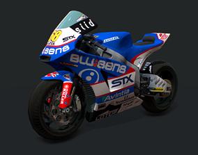 Bike Racing BQR 600 3D model