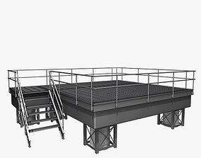 Metal Platform 3D