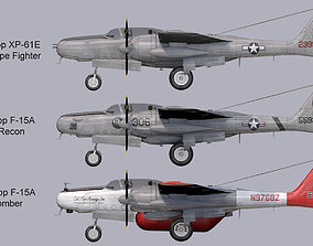 3D Northrop F-15 Reporter Collection