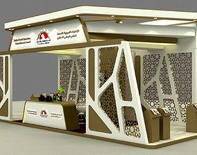 Exhibition Stand Design 10x4m 3D model