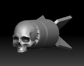 Skull Bomb printable