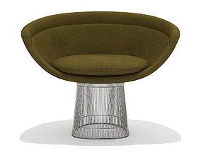 Knoll Platner lounge chair 3D