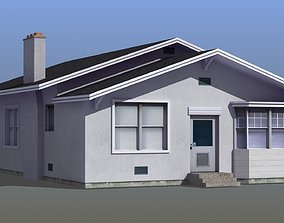 detached 3D model Bungalow