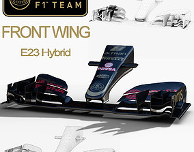 Lotus E23 Front wing 3D model