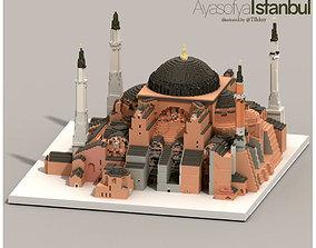 3D print model Hagia Sophia