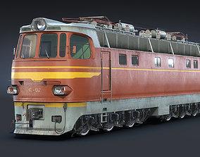 3D asset ChS4 Locomotive
