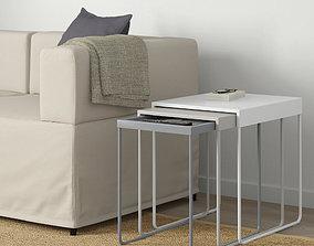 IKEA granboda nesting coffee table 3D asset