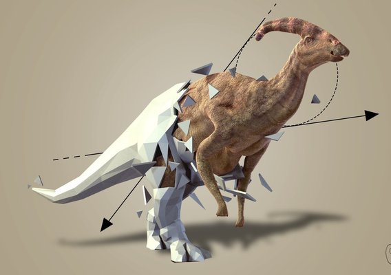 Geometric Dinosaurs