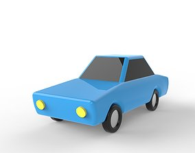 Coupe Toon Car 3D