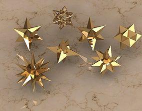 HOLIDAY STARS 3D printable model