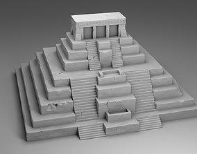 The pantheon of Maya 3D printable model