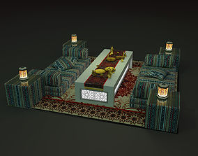 3mx3m arabic seating 3D