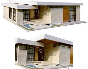 modern villa vol13 3D