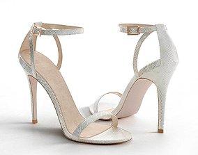 3D High Five Heeled Sandals