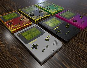 Gameboy Infinity 3D asset