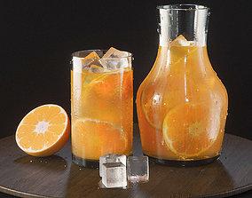 Orange Lemonade 3D