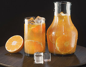 Orange Lemonade 3D