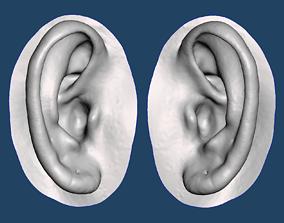 3D print model Natural human ear anatomy 08