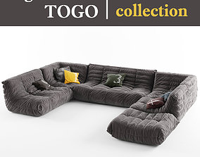 3D model Ligne Roset TOGO collection