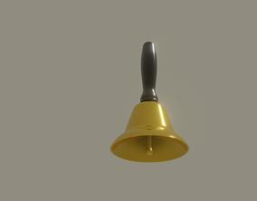 Handbell 3D asset