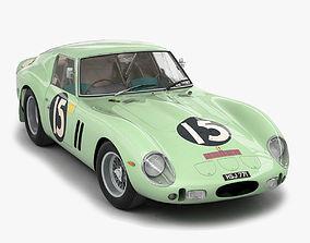 Ferrari 250 GTO - 3505GT - No Engine 3D model