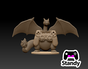 CHARIZARD CONTROLLER PS3-PS4 STAND 3D printable model