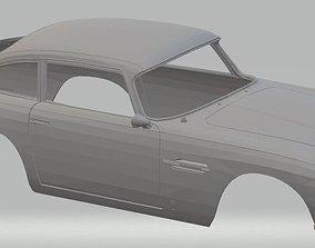 Aston Martin Zagato Printable Body Car