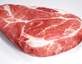 3D bbq Steak