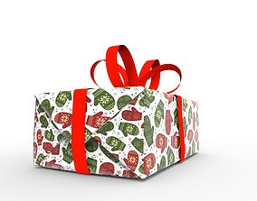 Gift packing Christmas 3D model