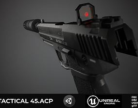 HK USP Unreal and Unity 3D asset