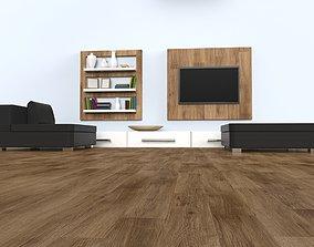 3d Living Room 3D model